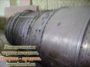 Турбина самолетная на утилизацию